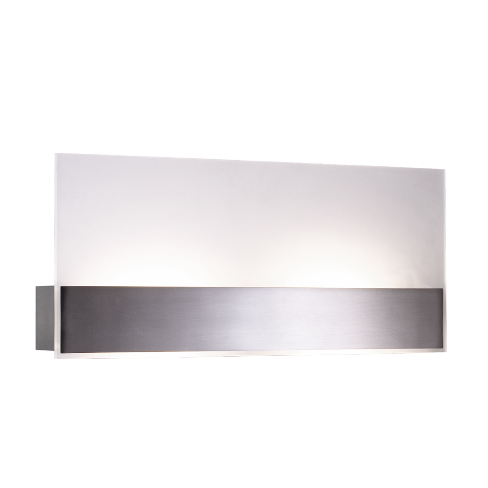 Small Interior Wall Lights : Jesco Lighting (WS665M) Flat Medium Wall Sconce