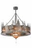 Meyda Tiffany (117720) 44 Inch Width Tall Pines with Fan Light Chandel-Air