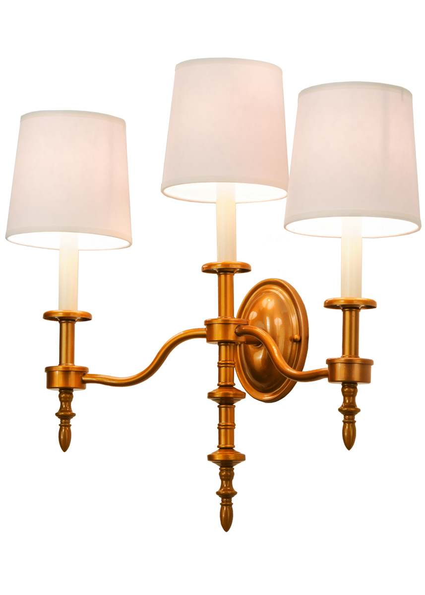 Wall Sconces Tiffany : Meyda Tiffany (148901) 22 Inch Width Toby 3 Light Wall Sconce