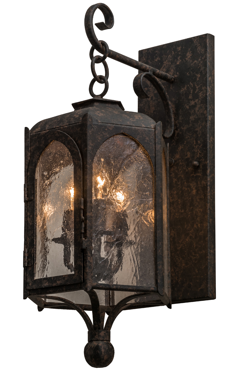 Indoor Wall Light Sconces : Meyda Tiffany (157580) 10 Inch Width Jonquil Wall Sconce