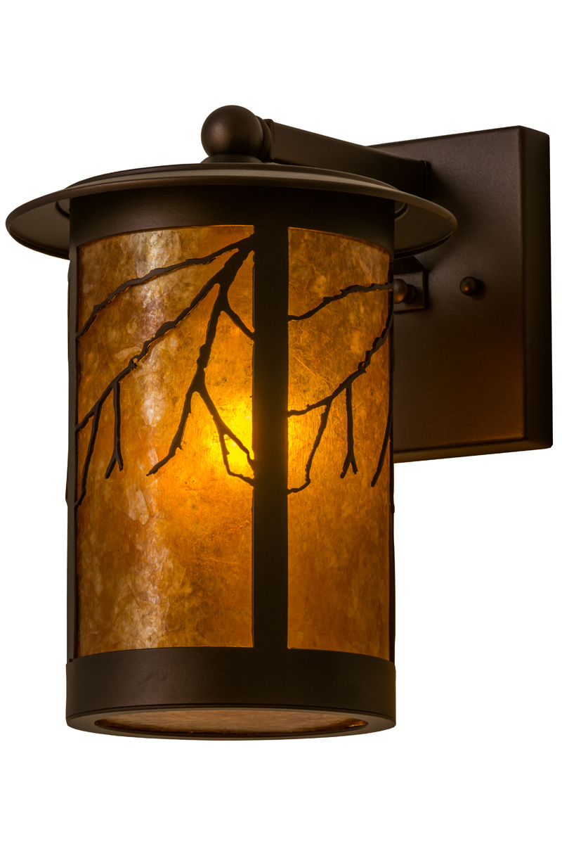 Wall Sconces With Branches : Meyda Tiffany (158931) 8 Inch Width Branches Wall Sconce