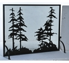 Meyda Tiffany (109441) 50 Inch Width X 38 Inch Height Tall Pines Fireplace Screen
