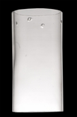 Meyda Tiffany (110603) 4 Inch Width X 7.5 Inch Height Cylinder Clear Replacement Shade