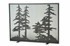 Meyda Tiffany (111045) 44 Inch Width X 33 Inch Height Tall Pines Fireplace Screen