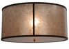 Meyda Tiffany (114148) 26 Inch Width Simple Mission Inverted Replacement Shade