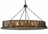 Meyda Tiffany (132676) 60 Inch Length Mountain Pine Oblong Inverted Pendant