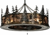 Meyda Tiffany (135769) 45 Inch Width Tall Pines with Uplights Chandel-Air