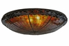 Meyda Tiffany (15727) 36 Inch Width Acorn Pan with Hooks Replacement Shade