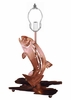 Meyda Tiffany (29080) 13.5 Inch Height Leaping Trout Base