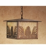 Meyda Tiffany (46472) 11 InchSq Mountain Pine Lantern Pendant