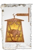 Meyda Tiffany (51494) 7.5 Inch Width Lone Grizzly Bear Hanging Wall Sconce