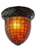 Meyda Tiffany (51846) 12 Inch Width Acorn Replacement Shade