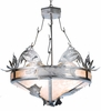 Meyda Tiffany (65175) 48 Inch Width Leaping Trout Inverted Pendant