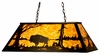 Meyda Tiffany (65416) 48 Inch Length Buffalo Oblong Pendant