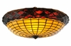 Meyda Tiffany (82066) 13 Inch Width Acorn Pan with Hooks Replacement Shade