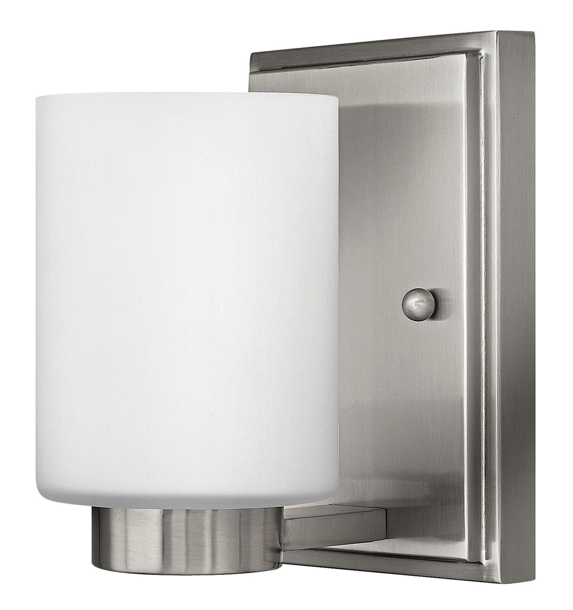 Hinkley lighting 5050bn miley single light bathroom for Hinkley bathroom vanity lighting