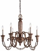 Minka Lavery (1476-562) Cornerstone 6 Light Chandelier