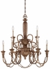 Minka Lavery (1479-562) Cornerstone 9 Lights 2 Tier Chandelier