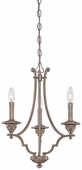 Minka Lavery (4863-279) Wellington Ave. 3 Light Mini-Chandelier