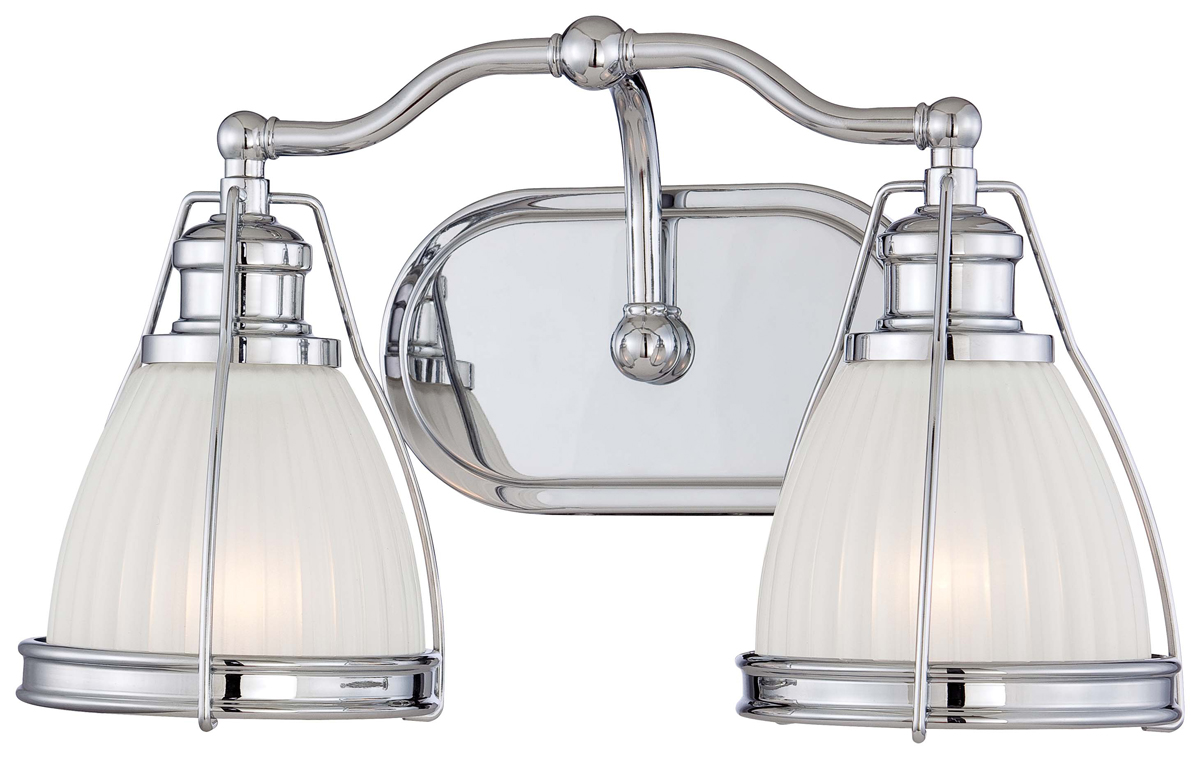 Minka lavery 5792 77 2 light bath vanity fixture for Minka bathroom light fixtures