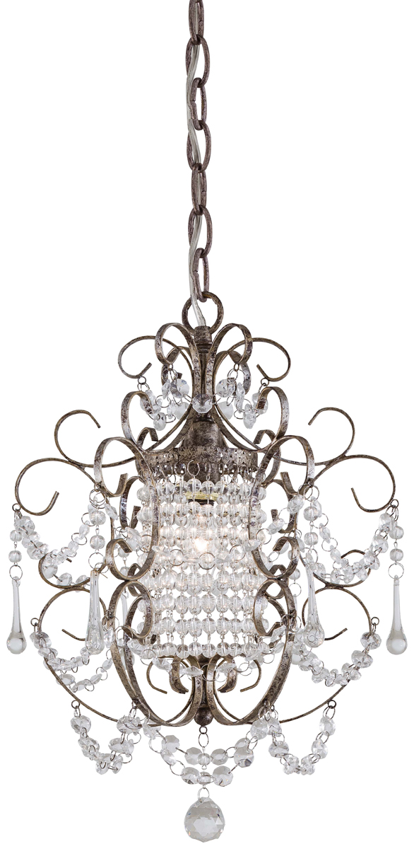 Mini Chandelier String Lights : Minka Lavery (3121-333) 1 Light Mini-Chandelier