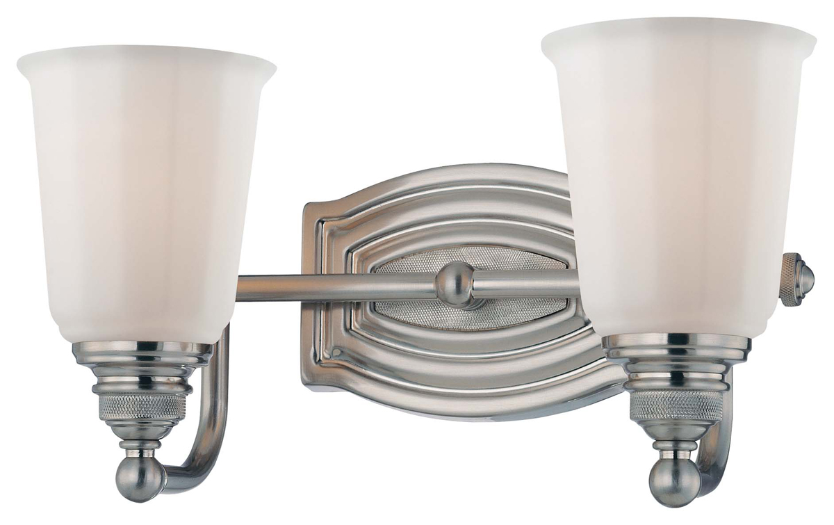 Minka lavery 6452 84 clairemont 2 light bath vanity fixture for Minka bathroom light fixtures