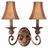 Minka Lavery (1562-477) Salon Grand 2 Light Wall Sconce