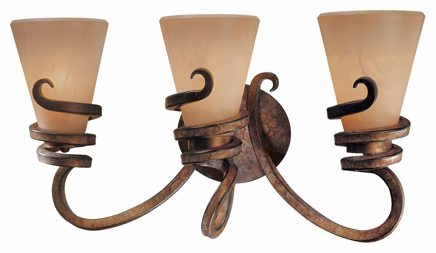 Bathroom Light Fixtures Bronze Finish minka lavery (6763-211) tofino 3 light bath vanity fixture