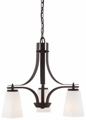 Minka Lavery (4323-577) Zacara 3 Light Mini-Chandelier