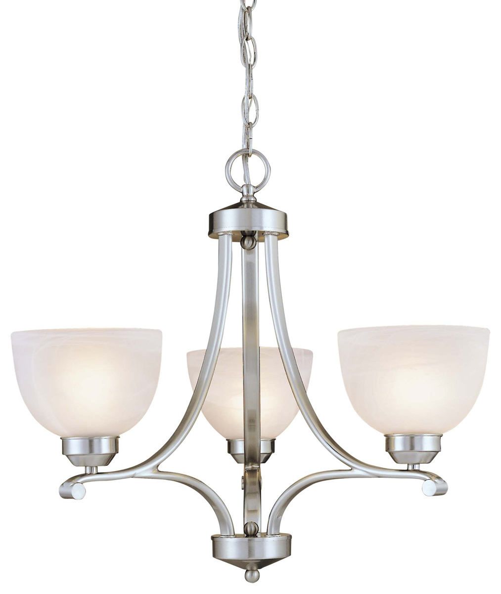 Mini Chandelier String Lights : Minka Lavery (1423-84) Paradox 3 Light Mini-Chandelier