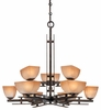 Minka Lavery (1277-357) Lineage 9 Light Chandelier