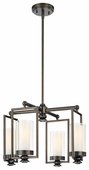 Minka Lavery (4363-281) Harvard Court 4 Light Mini-Chandelier