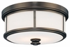 Minka Lavery (4365-281) Harvard Court 13.5 Inch Flush Mount