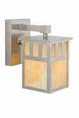 Meyda Tiffany (106438) 5 Inch Width Hyde Park Double Bar Mission Solid Mount Wall Sconce