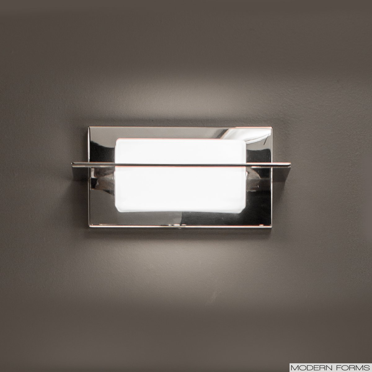 Contemporary Led Vanity Lights : Modern Forms (WS-47511) Razor 1-Light LED Vanity
