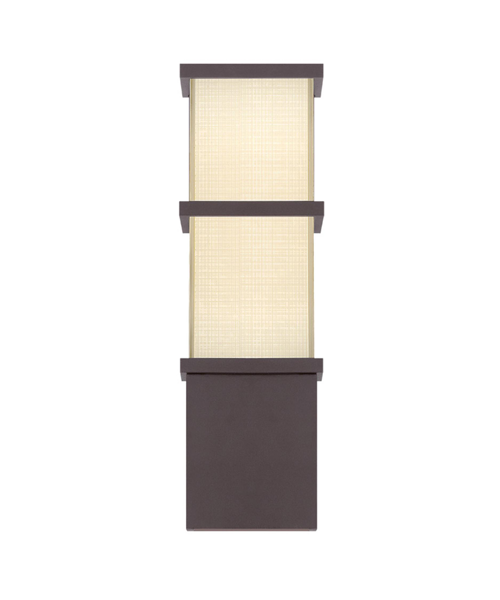 Modern Forms (WS-W5216) Elevation 16 Inch LED Outdoor Sconce Luminaire