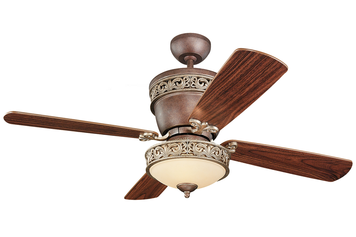 42 Or 52 Inch 5 Blade Indoor Ceiling Fan With Included Light Kit