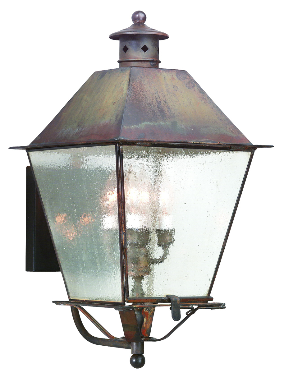 Troy Lighting (BCD9137) Montgomery 4 Light Exterior X-Large Wall Lantern