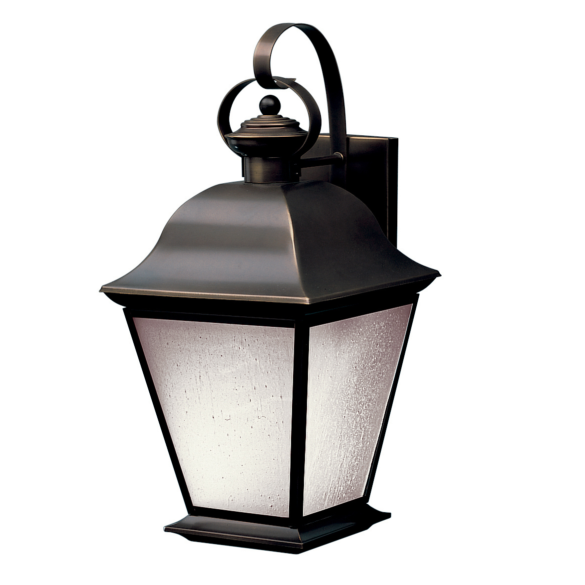Kichler Lighting (10909OZ) Mount Vernon 1 Light Fluorescent Large Outdoor Wall Sconce in Olde Bronze