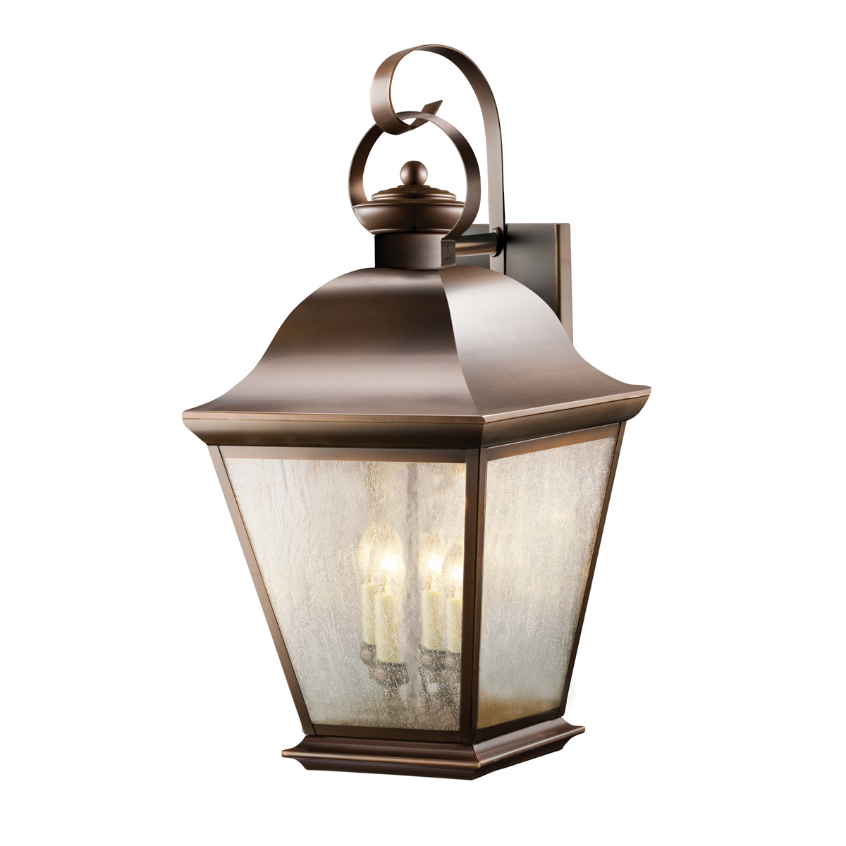 Kichler Lighting  9704OZ  Mount Vernon 4 Light X Large Outdoor Wall Sconce  in Olde BronzeKichler Lighting  9704OZ  Mount Vernon 4 Light X Large Outdoor  . Kichler Lighting Outdoor Sconce. Home Design Ideas