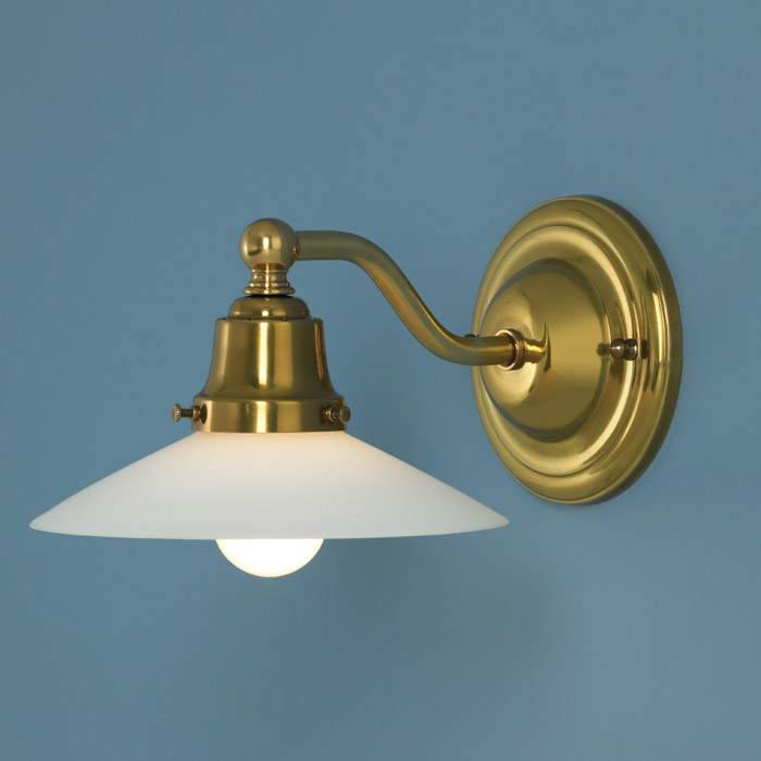 Aged Brass Wall Sconces : Nelly Wall Sconce in Aged Brass finish by Norwell Lighting - 5160-AG-MO