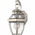 Brushed Nickel Outdoor Wall Sconces