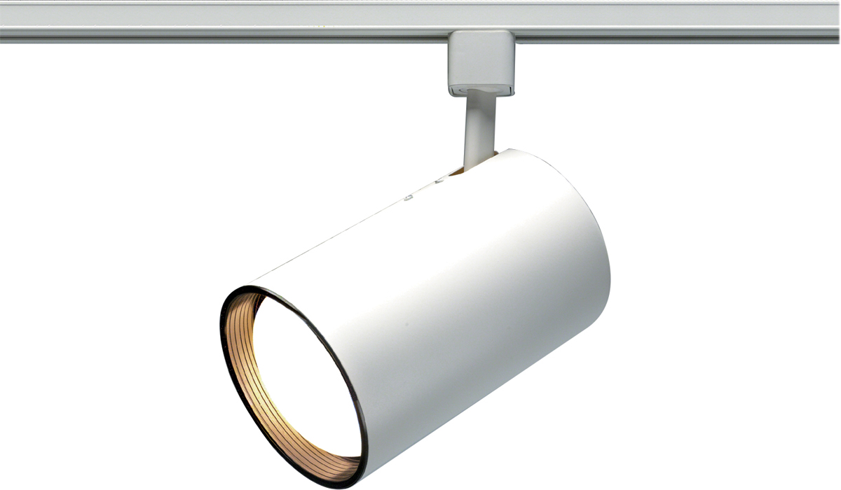 Cfl track lighting democraciaejustica nuvo lighting th361 1 light cfl r30 straight cylinder aloadofball Gallery
