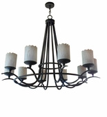 2nd Avenue Lighting (01.0770.60) Octavia Signle Tier Chandelier