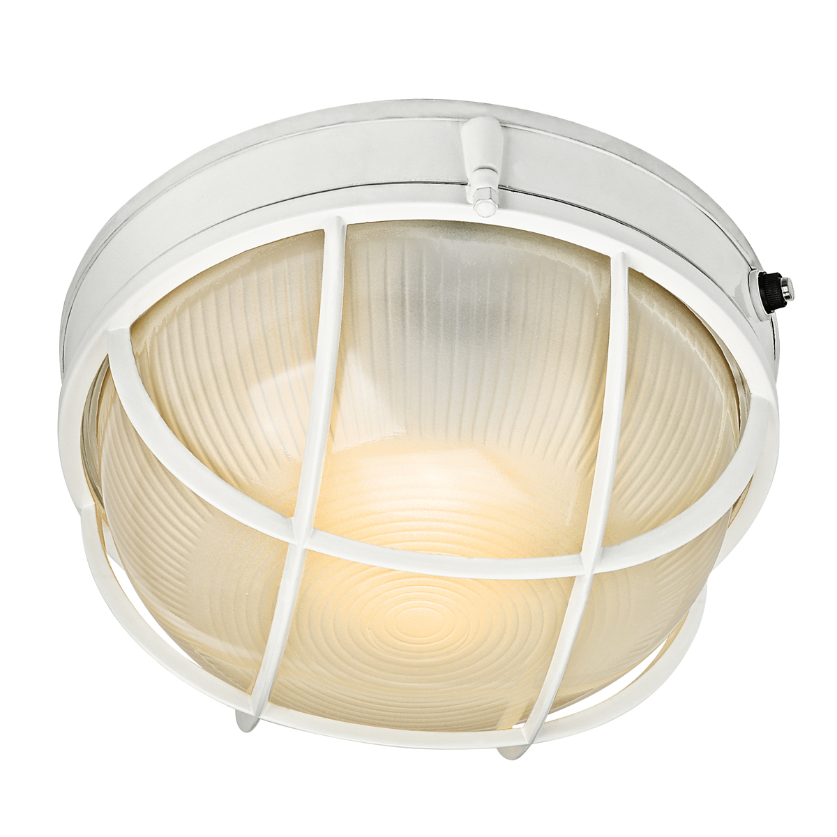 Fluorescent Exterior Wall Lights : Kichler Lighting (10622WH) 1-Light Fluorescent Outdoor Wall Sconce in White