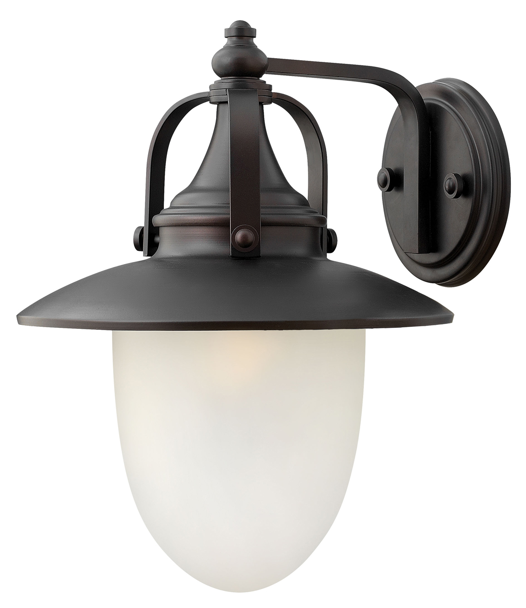 Wall Sconces En Espanol : Hinkley Lighting (2084SB-LED) Pembrook Large Outdoor LED Wall Sconce in Spanish Bronze