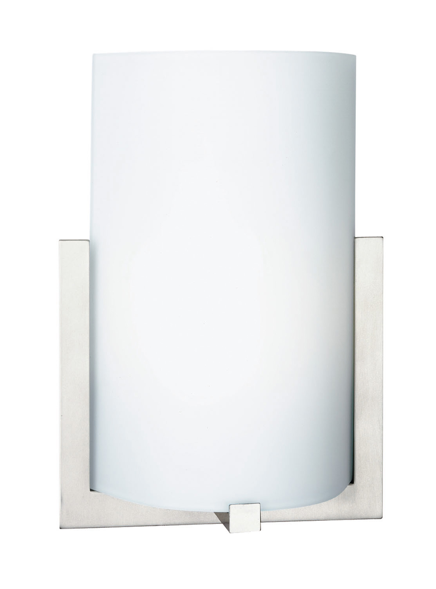 Philips Wall Lights Catalogue : Philips Lighting (FL0003836) Bow Wall Lamp in Satin Nickel