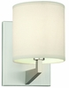 Philips Lighting (FN0046836) Fisher Island One Light Wall Sconce in Satin Nickel