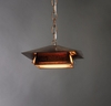 Profiles 1 Light Dark Sky Hanging Fixture by Ultralights Lighting