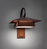 Profiles 1 Light Dark Sky Wall Sconce by Ultralights Lighting